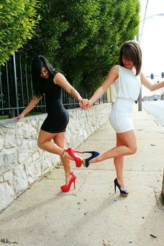 Sister Pictures ♡ we need to do this at the next assembly with modest dresses of coarse