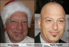 David Young Totally Looks Like Howie Mandel