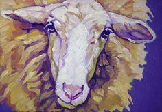 Sheep by Resident Artist Nancy Stark