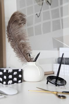 Feathers & Decorating...