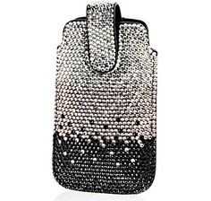 Sigal Style Glitter Phone Case - BLACK