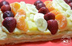 Entre núvols de cotó: Pastís de fruites