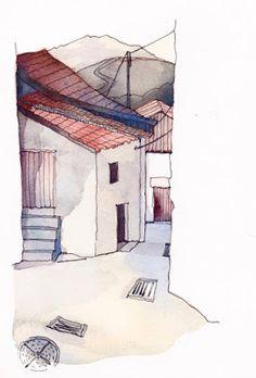 Trekking in the Peneda-Geres National Park, Portugal | Urban Sketchers
