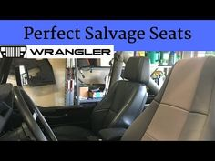 I think I found the perfect replacement seats for a Jeep Wrangler YJ. My Jeep still had the original seats with some neoprene covers. Jeep Mods, Jeep Wrangler Yj, Pontiac Grand Prix, Car Seats, Diy Projects, Youtube, Dessert Recipes, Ideas, Handyman Projects