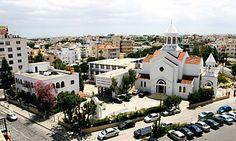 The Armenian compound in Strovolos, Nicosia