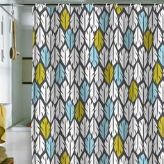 Folair Shower Curtain, $65, now featured on Fab.