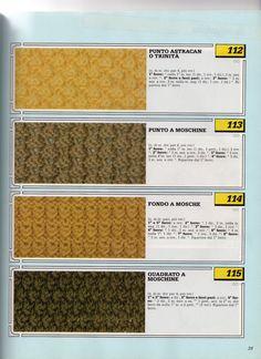 lo spazio di lilla: Collezione punti ai ferri 23 / Knitting stitches collection 23