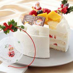 卵を一切使わず、「ふんわり」「しっとり」と焼き上げました。【クリスマス届け専用】【高島屋限定】卵を使わないクリスマスケーキ(絹てまり付き)