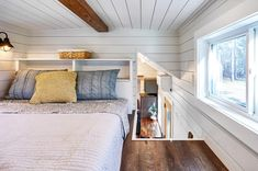 """Cypress"" Tiny House by Mustard Seed Tiny Homes Tiny House Movement // Tiny Living // Tiny House Bedroom // Tiny Home Loft // ""Cypress"" Tiny House by Mustard Seed Tiny Homes Tiny House Movement // Tiny Living // Tiny House Bedroom // Tiny Home Loft // Two Bedroom Tiny House, Tiny House Loft, Modern Tiny House, Tiny House Bathroom, Tiny House Living, Tiny House Plans, Tiny House Design, Tiny House On Wheels, Home Bedroom"