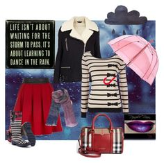 """""""Stormy weather"""" by koolkolourz on Polyvore featuring Primitives By Kathy, Yumi, Joules, Topshop, Wallis, Fulton, BeckSöndergaard and Burberry"""