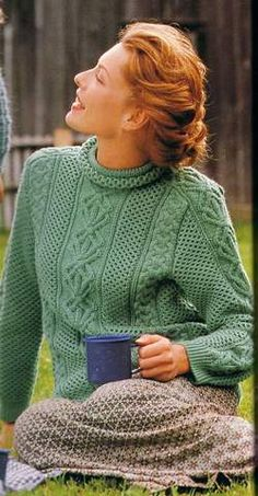 Easy Knitting Patterns for Beginners - How to Get Started Quickly? Easy Knitting Patterns, Lace Knitting, Knitting Designs, Hand Knitted Sweaters, Mantel, Lana, Knitwear, Sweaters For Women, Fashion