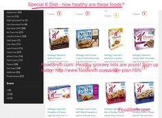 Special K Diet - how healthy are these foods?  http://www.foodsniffr.com/blog/special-k-diet-how-healthy-are-these-foods/  Special K Diet for weight loss - how clean and healthy are these foods? So you are considering following the Special K diet for weight loss? Much has been said about whether this diet plan helps one to lose weight or not. What we are here to tell you is to consider if the Special K foods are at