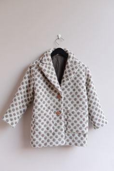 Neringa's warm dotty coat