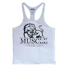 Mens Bodybuilding Muscle Stringer Tank Top