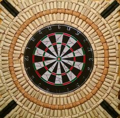Diy Wine Cork Dart Board Surround
