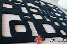 podkładki filcowe od www.filcocuda.pl filc, felt, dekoracje stołu, home decorations