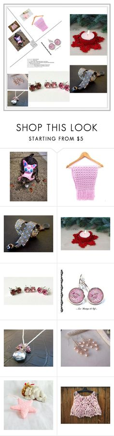 """""""Tante idee da Etsy"""" by acasaconmanu ❤ liked on Polyvore"""