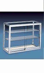 "Upright Countertop Display Case 18"" x 8"" x 30"" Glass Desserts Jewelry Pastries #RetailDisplayShelving"