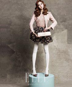 Kpop Fashion | Uee in Elle Korea