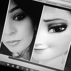 Elsa makeup Elsa, Polaroid Film, Makeup, Make Up, Face Makeup, Diy Makeup, Maquiagem, Jelsa