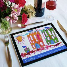 Children's Art Placemats