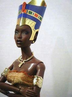 A doll of substance and heritage...stunning!