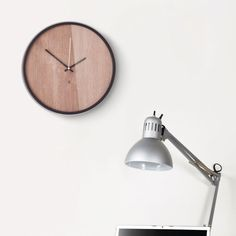 The Time Grain Wall Clock is modern simplicity at its finest. Whether you hang it in your home office or in your busy kitchen, its neutral tones and sleek design won't distract from its surroundings.