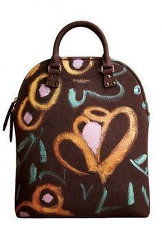 Handbag Burberry testa di moro