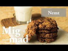 Cookies opskrift med chokolade, banan og peanutbutter - se her