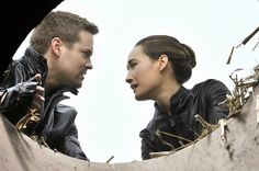 """Crossbow"" - Shane West as Michael and Maggie Q as Nikita in NIKITA on THE CW"