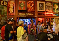 The Pike Place Magic shop is a great place to find entertainment for the family. With lots of tricks, magic, and history to entertain ones mind.