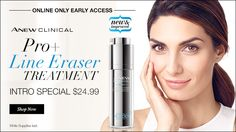 Online only early access. New Anew Clinical Pro+ Line Eraser Treatment. #Avon #lipstick #beauty #makeup