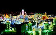 FESTIVAL INTERNACIONAL DE ESCULTURAS DE GELO E NEVE DE HARBIN @http://misturaurbana.com/2013/01/festival-internacional-de-esculturas-de-gelo-e-neve-de-harbin/#