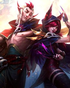 #LeagueofLegends #League #LoL #Xayah #Rakan #XayahandRakan