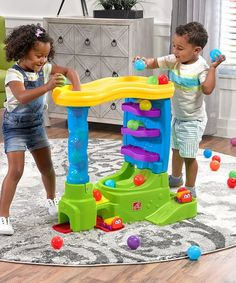 Ball Buddies Double Drop HQ provides kids with hours of play ball fun and develops fine motor skills! Toddler Toys, Kids Toys, Cause And Effect Relationship, Activity Toys, Kid Activities, Interactive Toys, Preschool Toys, Drop, Fine Motor Skills