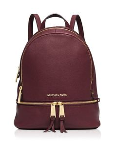 Michael Michael Kors Small Rhea Zip Backpack