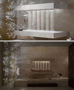 Dornob | Modern Home, Interior & Furniture Designs & DIY Ideas  Nice shower . . .