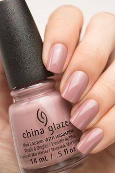 70 new Ideas for manicure rosa china glaze China Nails, China Glaze Nail Polish, French Nail Designs, Colorful Nail Designs, Trendy Nails, Cute Nails, Gloss Matte, Nagel Hacks, Fingernail Designs
