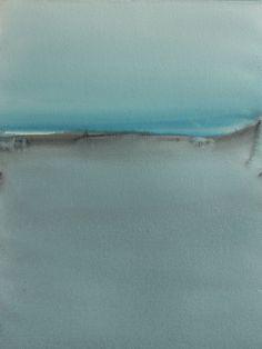"Koen Lybaert; Watercolor 2014 Painting ""Nenetsië"""