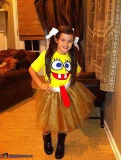 Sponge Bob Sassy Pants - Homemade costumes for girls