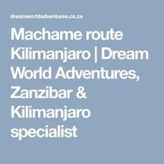 Umbwe route on Kilimanjaro Kilimanjaro, Adventure, Camps, Adventure Movies, Fairytale