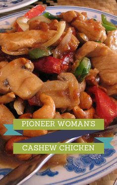 The Pioneer Woman Ree Drummond shared her recipe for 16-minute Cashew Chicken, to help make dinner time a breeze!