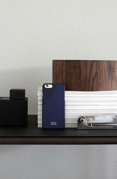 Black, Oak and Navy combos. CLIC Leather in Marine Blue @amerrymishap