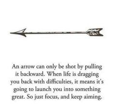 The arrow #quote.
