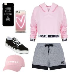 """""""Untitled #47"""" by elisha-m-ronald on Polyvore featuring Local Heroes, adidas, Vans and Casetify"""