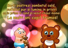 Mesaje de La mulți ani pentru copii Elegant Nails, Beautiful Roses, Mario, Happy Birthday, Family Guy, School, Cute, Fictional Characters, Easter