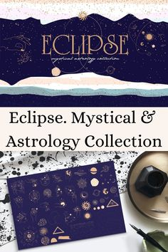 Mystical & Astrology Collection --- Collection of Mystical and Astrology objects, seamless pattern, premade logo and template for social media and App Social, Instagram Grid, Grid Layouts, Business Products, Story Template, Craft Business, Minimalist Style, Celine, Mobile App