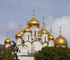 Cattedrale dell'Annunciazione. Mosca, Russia Archivio Fotografico