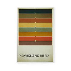 Land of Nod  Kids' Room Décor: Fairy Tale Wall Art Princess and the Pea  Colors are awesome.