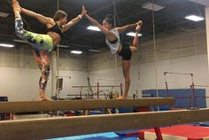 When you sign up for adult gymnastics to live out your childhood fantasies, learn new skills and overcome fears and your bae signs up too & joins in all the fun. So excited to learn new tricks with you @melanie.bw #nevertoolate #gymnastics #acrobatics #balancebeam #tumbling #watchoutsimone #acroyoga #acroyogatoronto #nuvangostyle #nuvangoactive